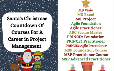 Santa's Christmas Countdown Of Courses For A Career in Project Management