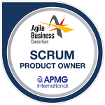 Scrum Product Owner Accreditation Logo